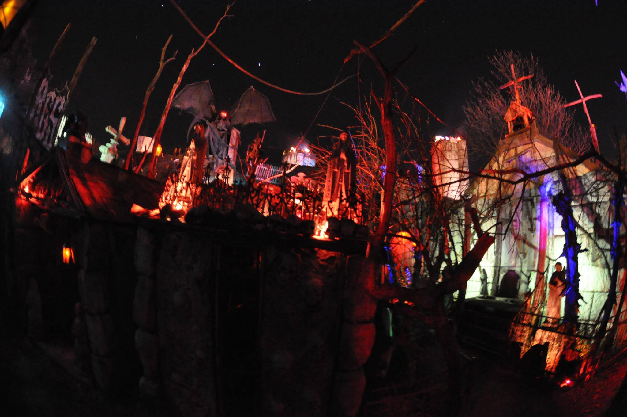 The Haunted Hoochie   Pataskala, Ohio   Top 4 Haunted Houses to Visit in Ohio