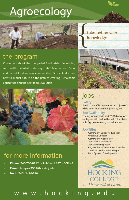 What is Agroecology Hocking College