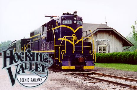 Hocking Valley Scenic Railway | things to do in nelsonville
