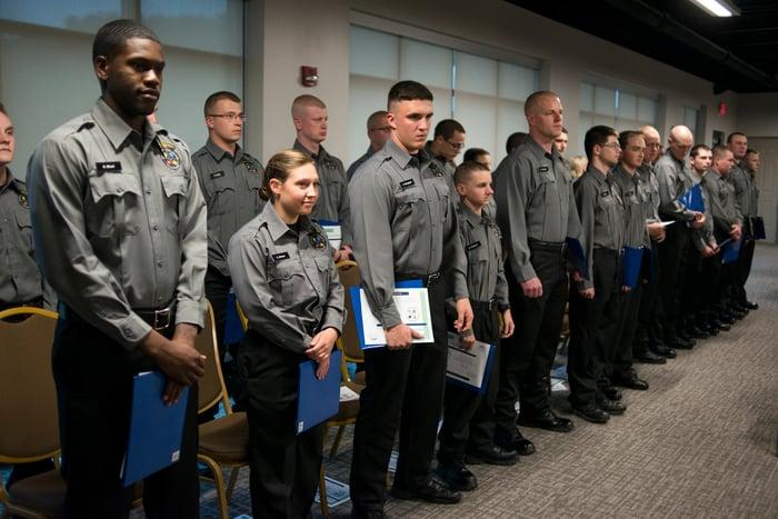 Hocking College 2017 Police Academy Graduates