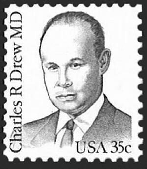 Charles Drew Stamp