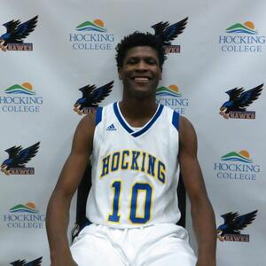 Azendel Johnson - Men's Basketball at Hocking College - National Junior College Athletic Association Division-III Player of the Week
