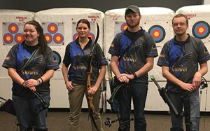 Hawks Qualify Four Shooters for USCA Indoor Nationals