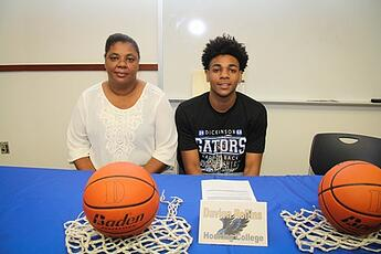 Hocking College Welcomes Trio of Signees from Dickinson High School