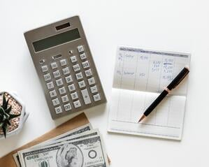 Calculator budgeting