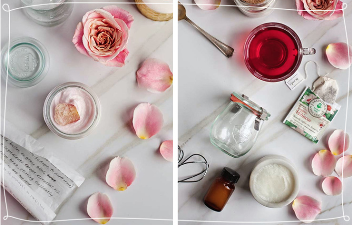 Rose-Hibiscus Whipped Body Butter | 10 DIY Holiday Gifts