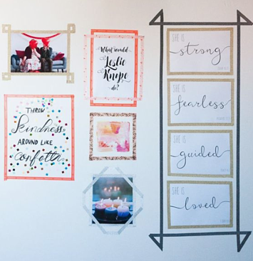 Winning Wall Art Gallery | 15 Ways to Decorate Your Dorm Without Breaking the Bank