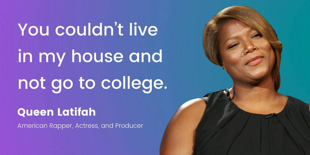 Queen Latifah | 16 Famous Celebrities Who Attended Community College