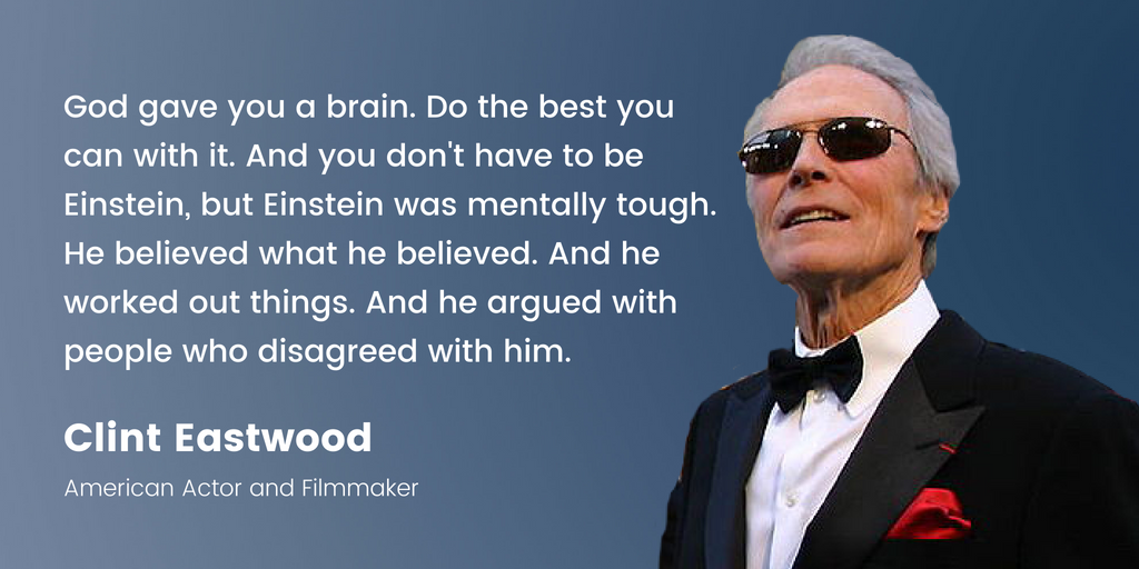 Clint Eastwood | 16 Famous Celebrities Who Attended Community College
