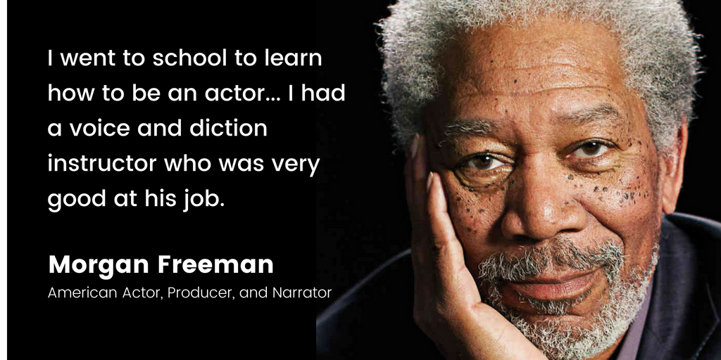 Morgan Freeman | 16 Famous Celebrities Who Attended Community College