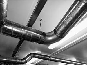 HVAC heating ducts