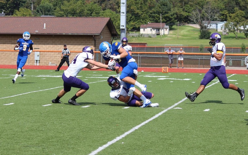 Hocking Knocks Off Ashland: 53-20