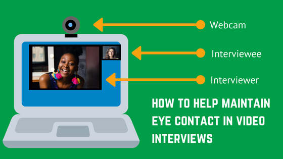 Maintain Eye Contact In Video Interviews | How to Prepare for an Interview