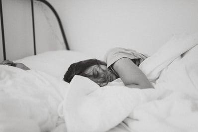 lady sleeping