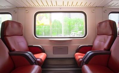 spring break travel - train