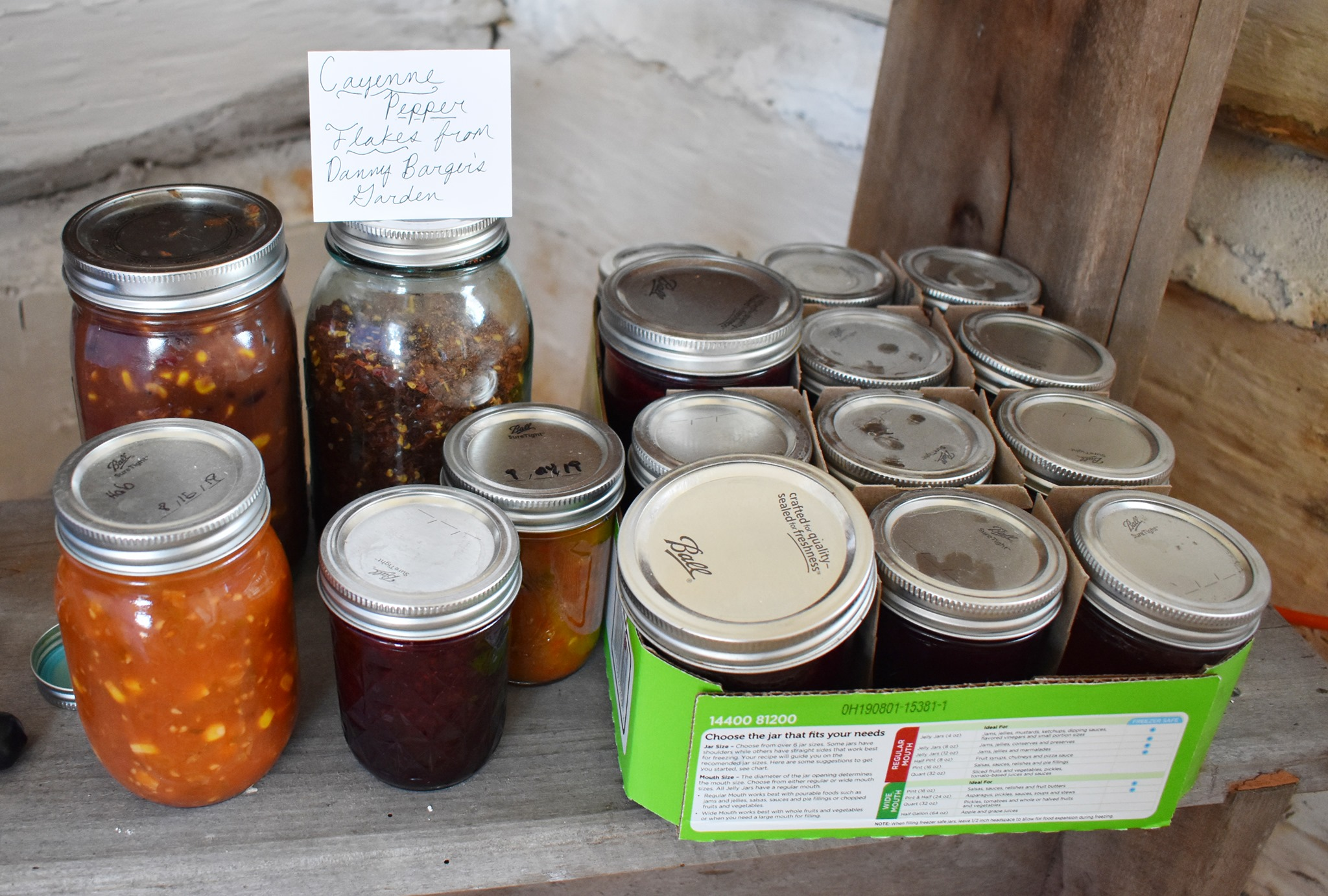 Homemade Jellies and Jams | Agroecology Students Host Farm-to-Table Event