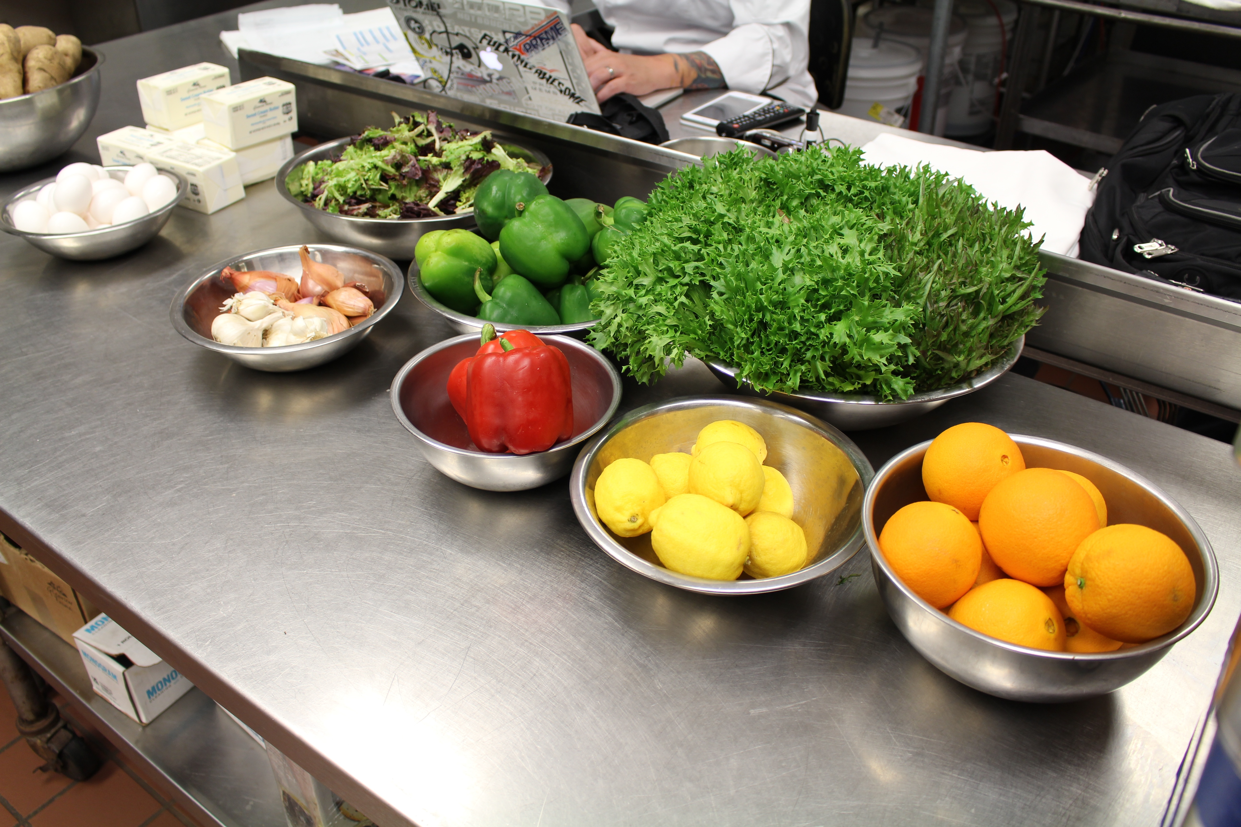 Fresh food for the Culinary Arts Degree Program at Hocking College | Five Cool New Jobs in the Culinary Industry