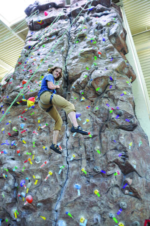 rock wall student center