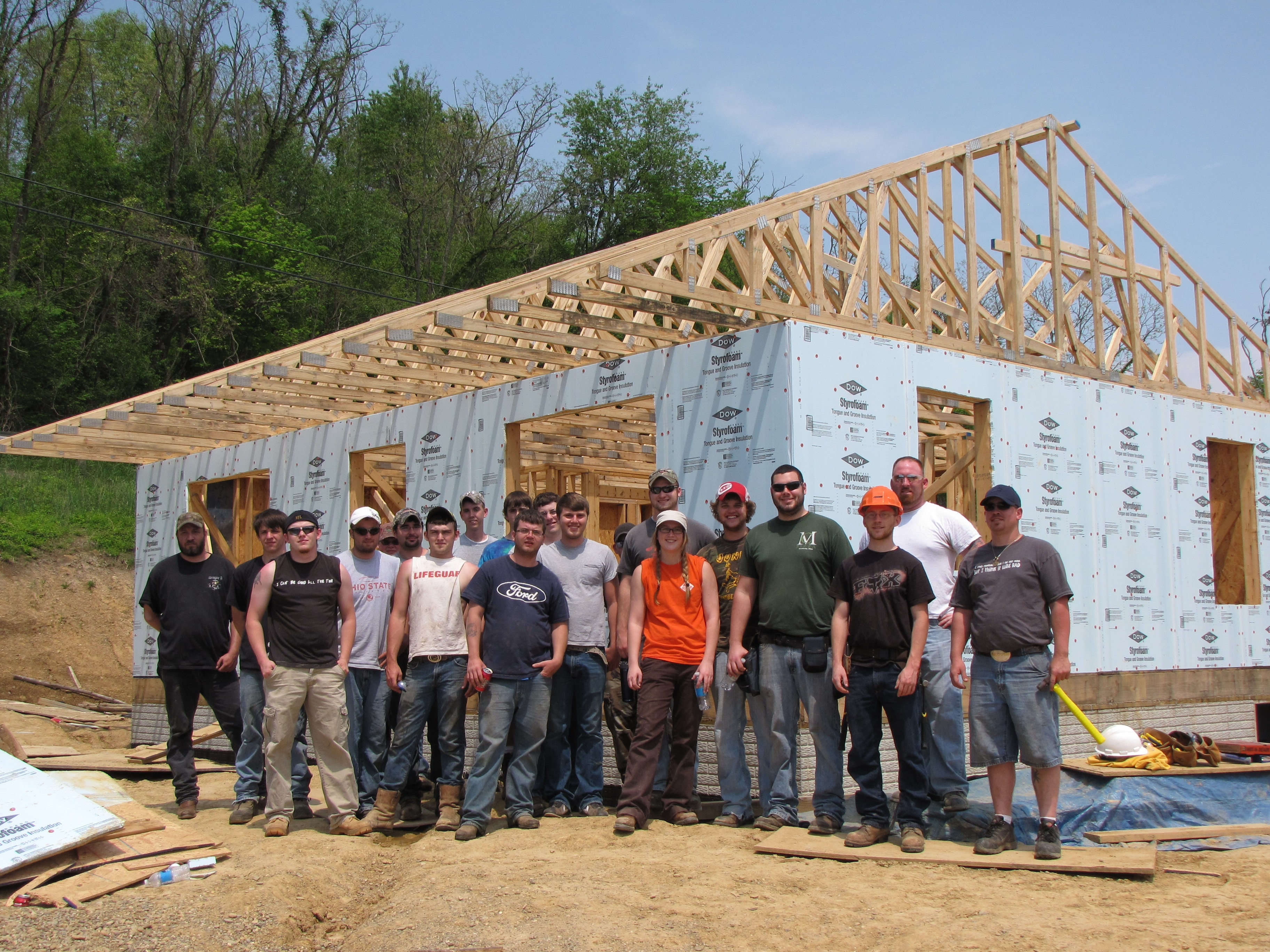construction management program   hocking college