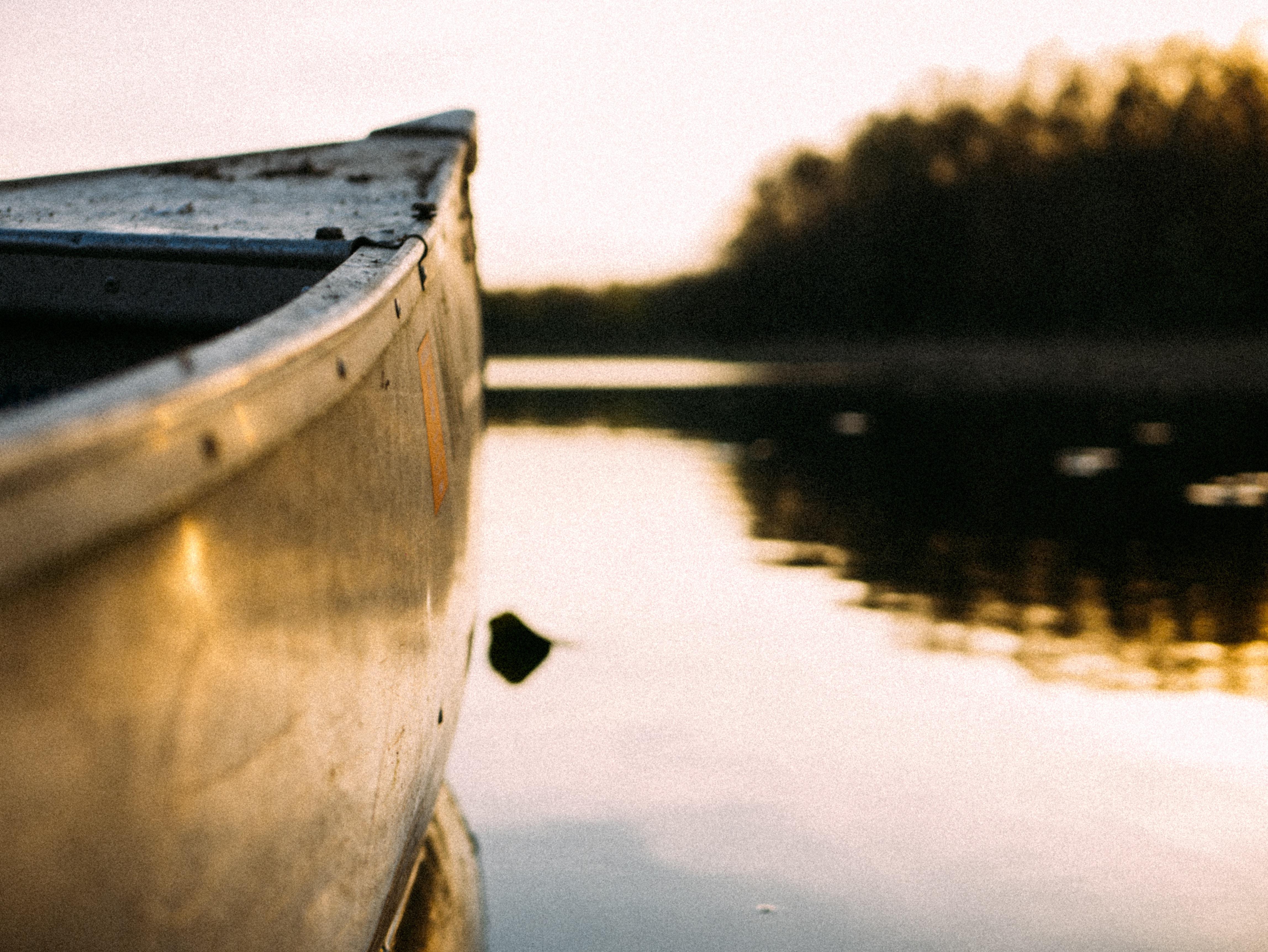 canoe closeup