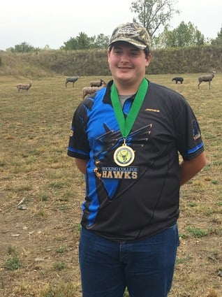 Archery Places Fourth at USCA 3D Nationals