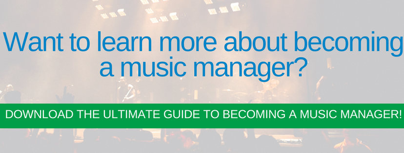 become a music producer | become a music manager